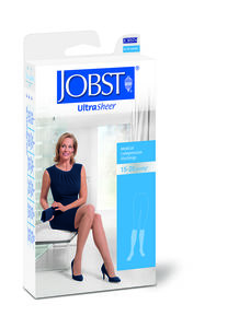 JOBST Ultra Sheer knestrømper sort XL