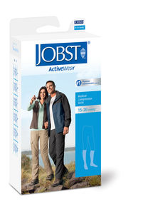 JOBST ActiveWear 1 Kne Sort L