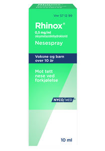 Rhinox Nesespray 0,5 mg/ml