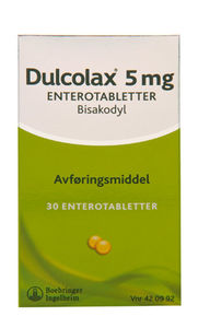 Dulcolax Enterotab 5 mg