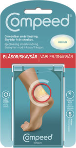 Compeed gnagsårplaster medium 5 stk