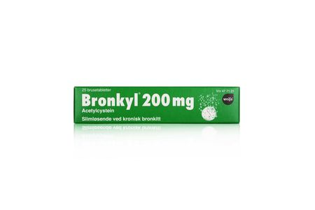 Bronkyl Brusetab 200 mg