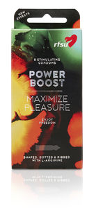 RFSU Power Boost kondom 8 stk