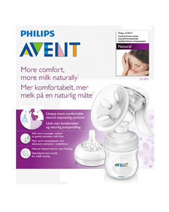 Philips Avent  manuell brystpumpe Natural