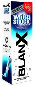 Blanx White Shock tannkrem 75 ml