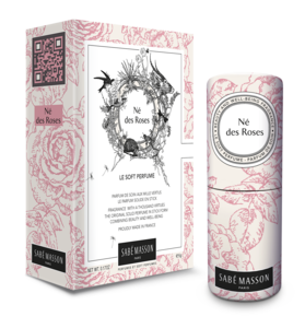 Sabe Masson Soft Perfume Né des Roses parfymestift, 5 g