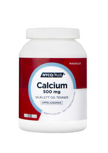 Nycoplus calcium Tyggetab 500 mg