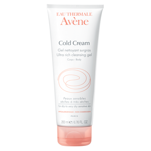 Avène Cold Cream cleansing gel kroppsvask 200 ml