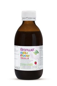 Bronwel kids+family hostesirup 240 ml