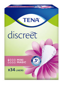 TENA Discreet Mini Magic truseinnlegg 34 stk
