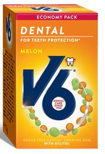 V6 Dental Melon 50 stk