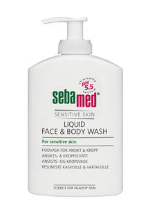 Sebamed Face & Body wash m/pumpe 300 ml