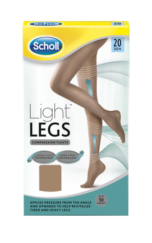627f02e4 Kjøp Scholl Light Legs 20 denier Beige XS - 1 par på nett | Vitusapotek