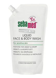 Sebamed Liquid Face & Bodywash refill 1 liter