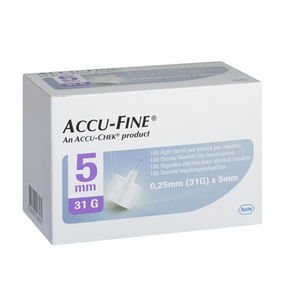 Accu-fine pen needle 31G 5mm