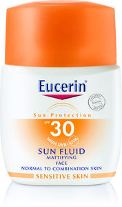 Eucerin Sun Face Fluid solkrem SPF 30, 50 ML