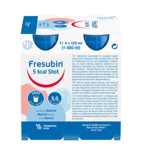 Fresubin 5kcal shot nøytral 4 x 125 ml