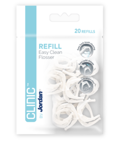 Jordan Clinic Easy Clean Floss refill 20 stk