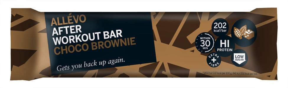 Allevo After Workoutbar Choco Brownie 60 g