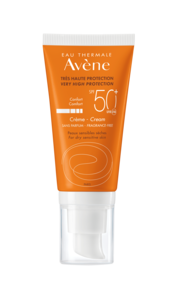 Avène Sun ansikt normal/tørr hud SPF 50+, 50 ml