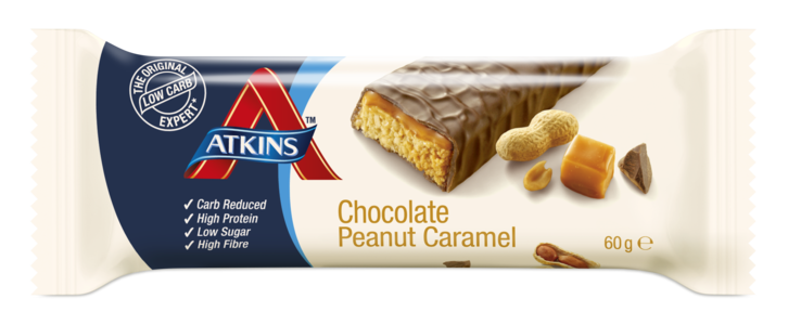 Atkins Advantage Chocolate Peanut Caramel Bar 60 g