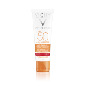 Vichy Ideal Antioksidant solkrem til ansikt spf 50 50 ml