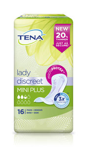 TENA Lady Discreet Mini Plus bind16 stk