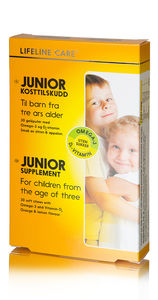 Lifeline care junior Gelepute med sitron/appelsinsmak
