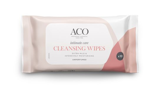 ACO Intimate Care Clean Wipes u/p10stk