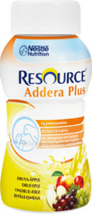 Resource Addera+ næringsdrikk eple- og druesmak 4x200 ml