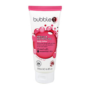 BubbleT Bodylotion Hibiscus & Acai Berry Tea 200ml