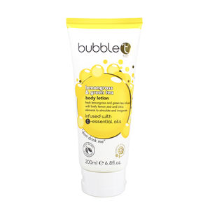 BubbleT Bodylotion Lemongrass & Green Tea 200ml