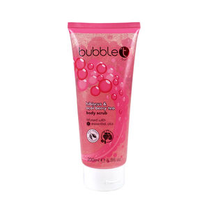 BubbleT Scrub Hibiscus & Acai Berry Tea 200ml