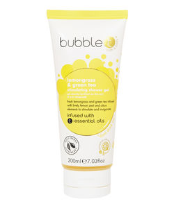 BubbleT Shower Gel Lemongrass & Green Tea 200ml