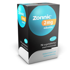 Zonnic Sugetab med mintsmak 2 mg
