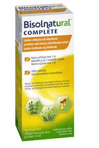 Bisolnatural Complete hostesirup 180 g