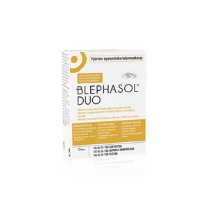 Blephasol duo m/servietter 100 ml