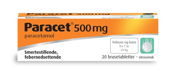 Paracet Brusetab 500 mg
