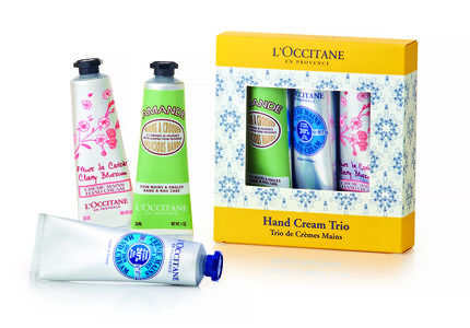 L'Occitane håndkrem trio set 3 x 30 ml