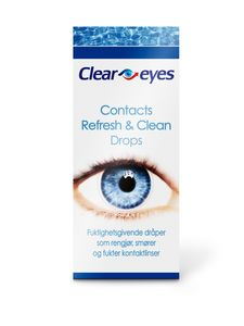 Cleareyes Contacts øyedråper 15 ml