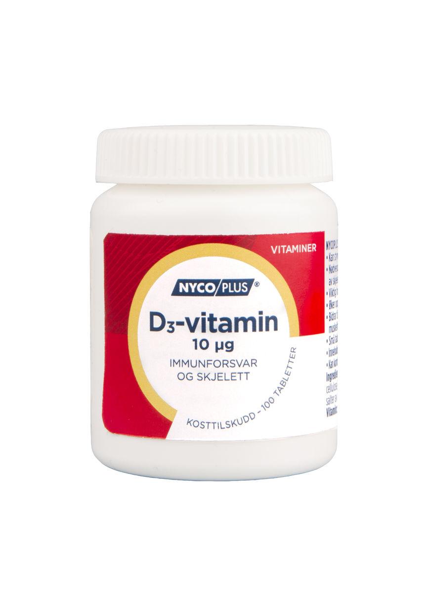 nycoplus d3 vitamin tab 10 mikrog vitusapotek. Black Bedroom Furniture Sets. Home Design Ideas