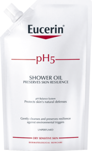 Eucerin pH5 Shower Oil Refill Uparfyrmert 400ml
