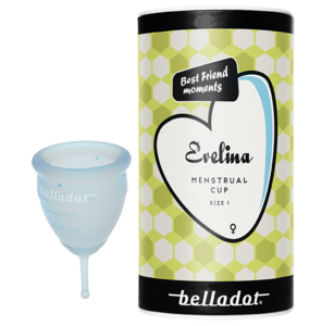 Belladot Evelina Menstrual Cup Small & Medium