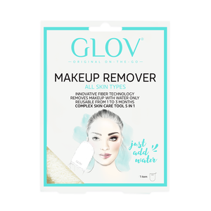 GLOV Makeup Remover On-the-Go Ivory