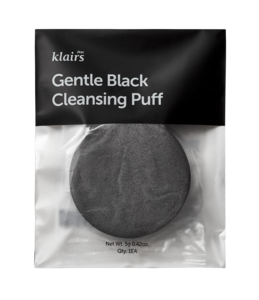 Klairs Gentle Black Cleansing Puff 1 stk