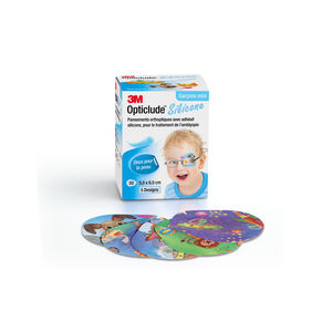 3M™ Opticlude™ Silicone øyelapp gutt mini