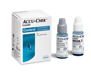 26537730 Accu-Chek Guide 2 kontrolløsning for blodsukkerstrimler