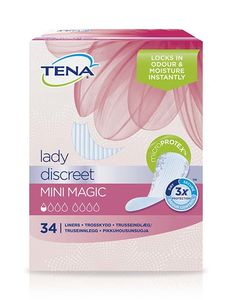 TENA Lady Mini Magic truseinnlegg 34 stk