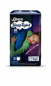 Libero Sleep Tight 10 nattbleie / 35-60kg 12 stk