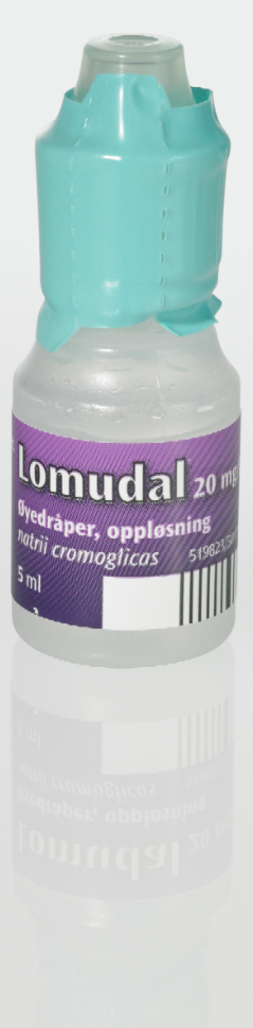 2de4a3474 Kjøp Lomudal Øyedr 20 mg/ml 5 ml på nett | Vitusapotek